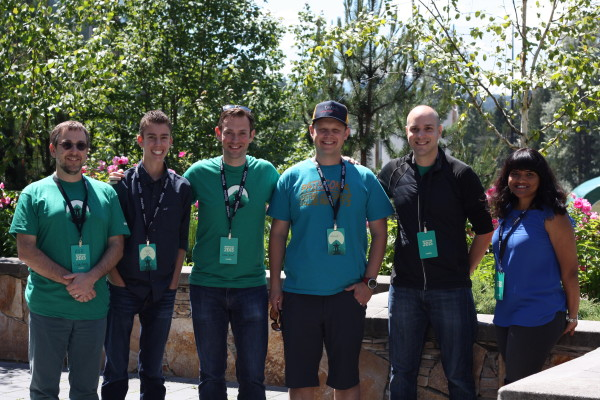 Web QA team in Whistler 2015
