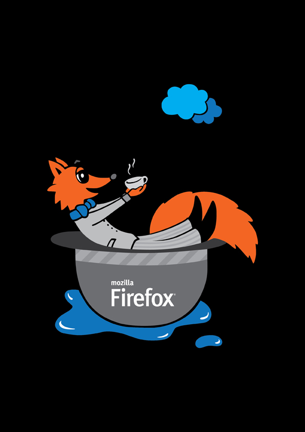 [Ivana Catovic Mozilla UK T-shirt design]